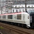 The Narita Express train, better known as NEX.