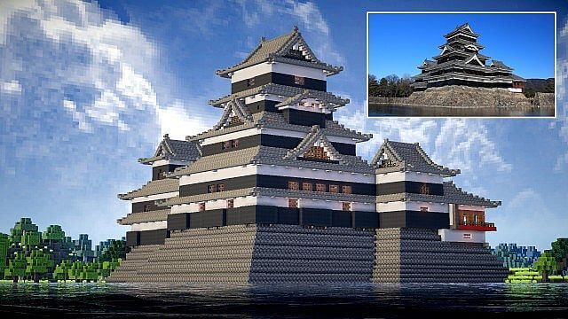 http://www.planetminecraft.com/project/matsumoto-castle-japan/