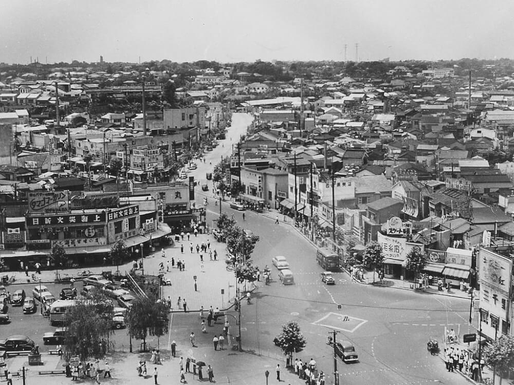 tokyo then and now photos from past centuries tokyo from the inside